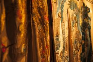 Gorgeous uchikake kimonos