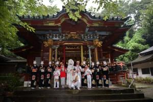 with Byakko-shu in Oji-inari